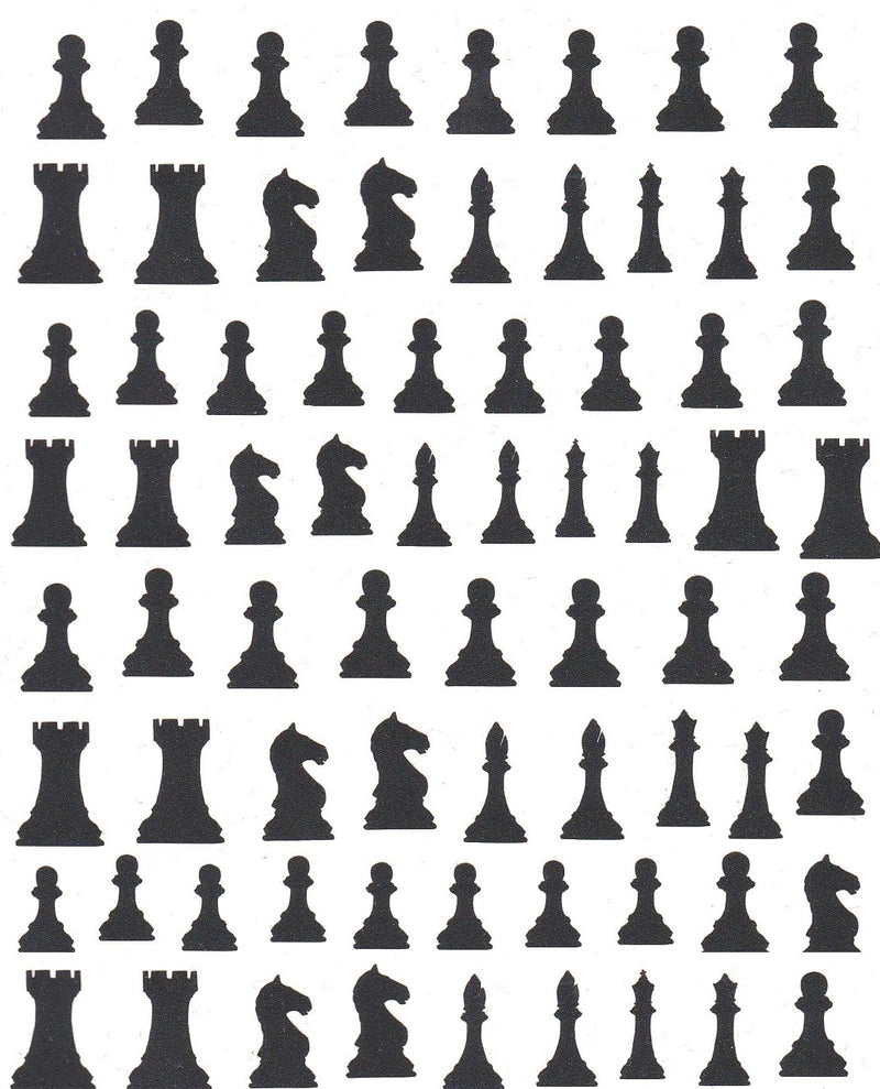 Chess Nail Stickers