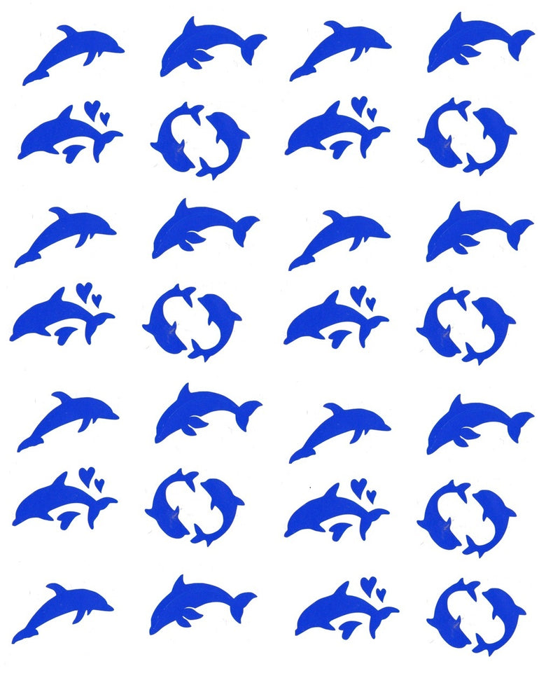 Dolphin Vinyl Stickers ( Multiple colours to choose from )