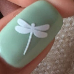 DragonFly Nail Stickers
