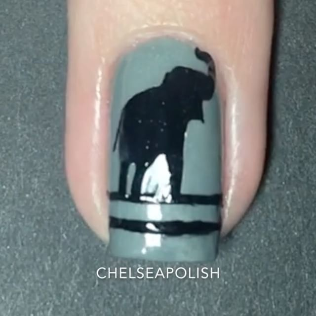Elephant Nail Stickers