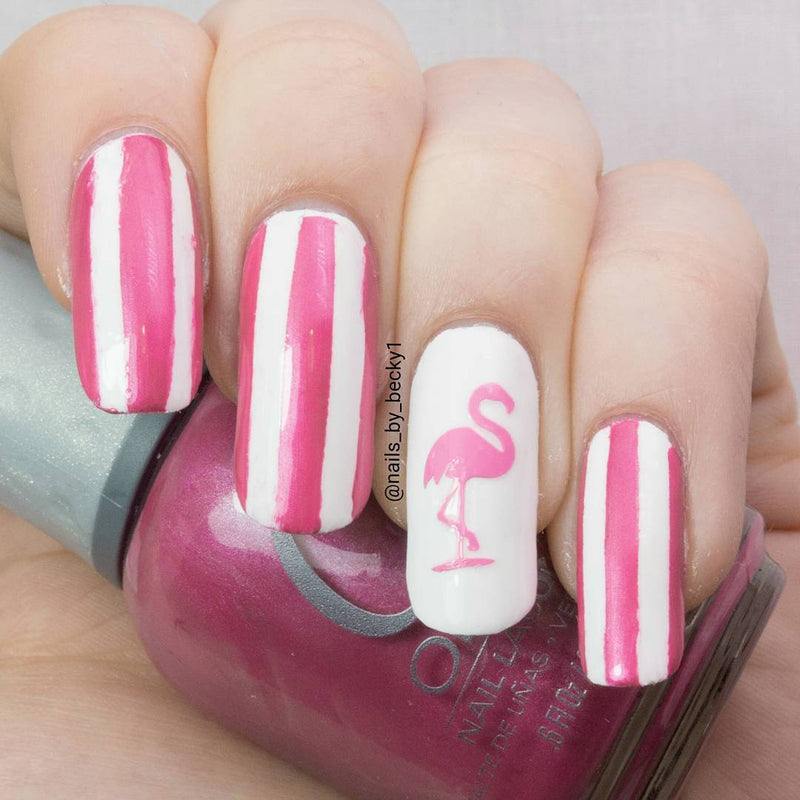 Flamingo   Nail Stickers