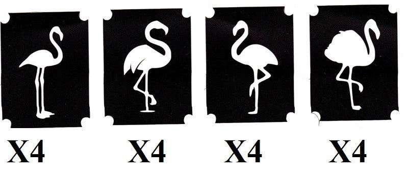 32 Flamingo Tattoo Stencils