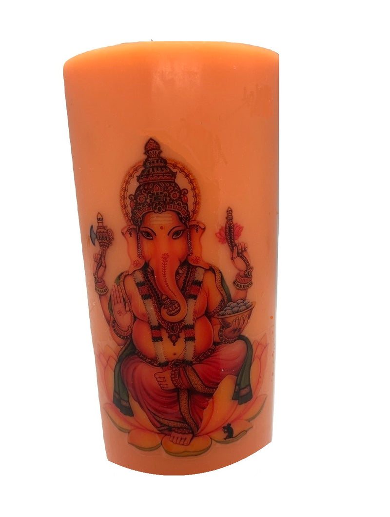 Ganesha Candle (Several Colours )