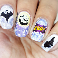 Halloween Collection Nail Art Decals c3