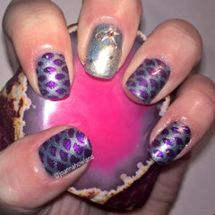 32 Nail Stencils style 103