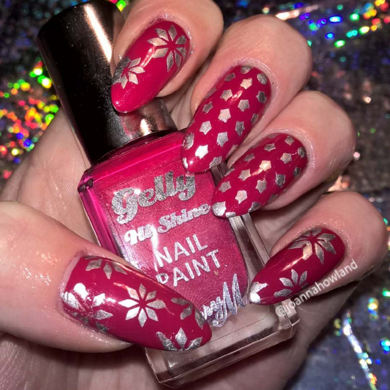32 Nail Stencils style 115