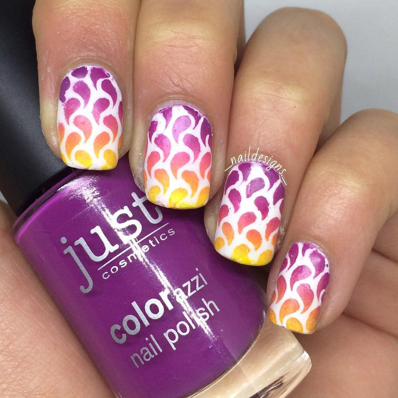 32 Nail Stencils style 126