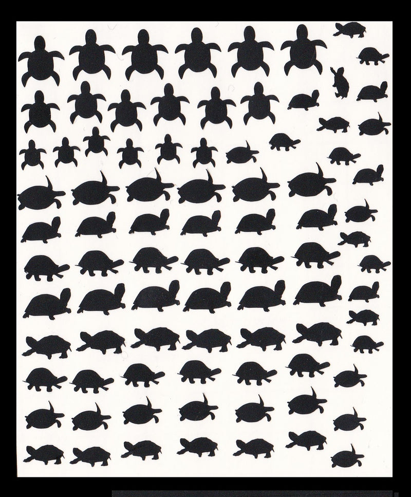 Turtle Tortoise  Nail Stickers