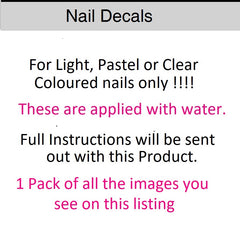 Fairy Nail Art Decals