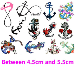 Anchor Code 1  Temporary Tattoos