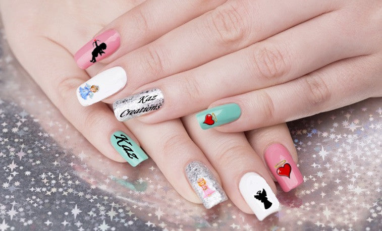 Angel Nail Art