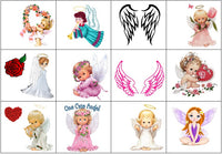 Angel Temporary Tattoos