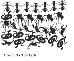 Snake Spider Scorpion Ant c3 Vinyl Stickers ( Multiple colours to choose from )