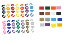 Aquarius Zodiac Vinyl Stickers ( Multiple colours to choose from )