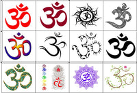 Aum Temporary Tattoos