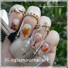 Autumn Fall Nail Art