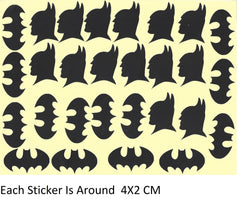 Batman Vinyl Stickers ( Multiple colours to choose from )