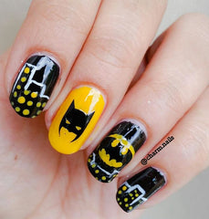 Batman Nail Stickers