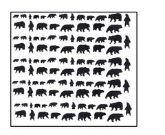 Bear Nail Stickers