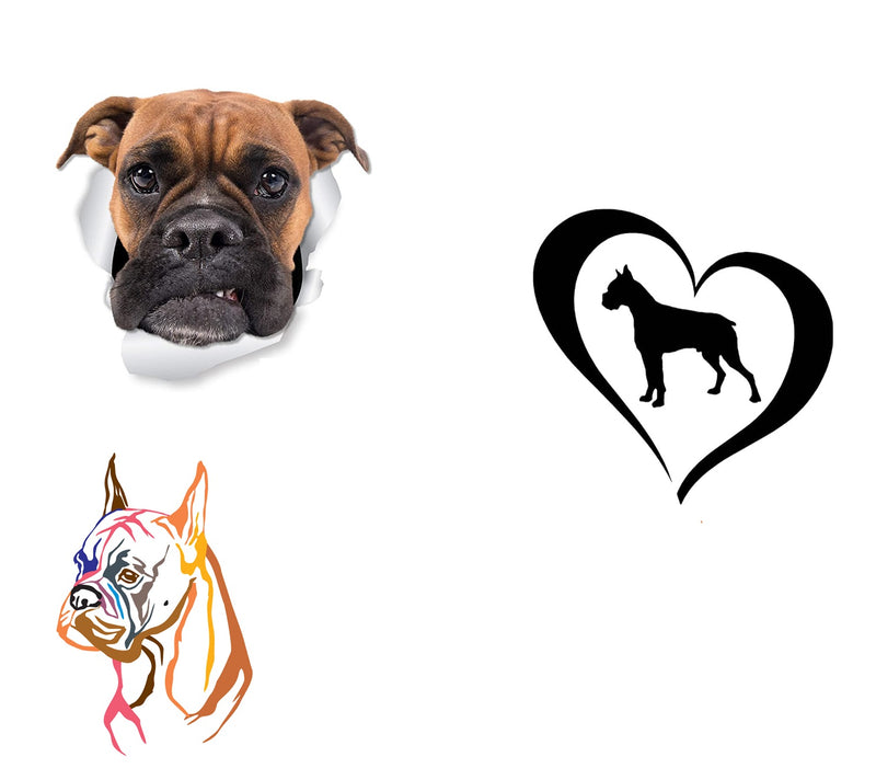 Boxer Dog Iron On Transfers