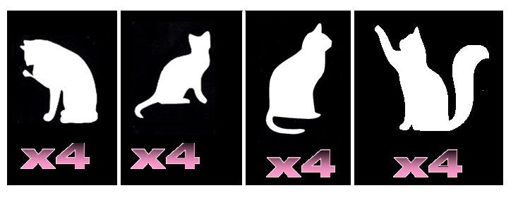 32 Cat Tattoo Stencils