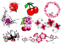 Cherry Blossom Temporary Tattoos