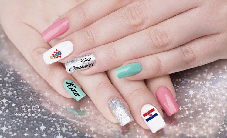 Croatia Nail Art