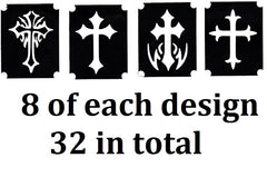 Cross Tattoo Stencils