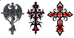 Cross Temporary Tattoos