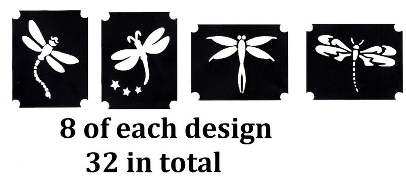 Dragonfly Tattoo Stencils