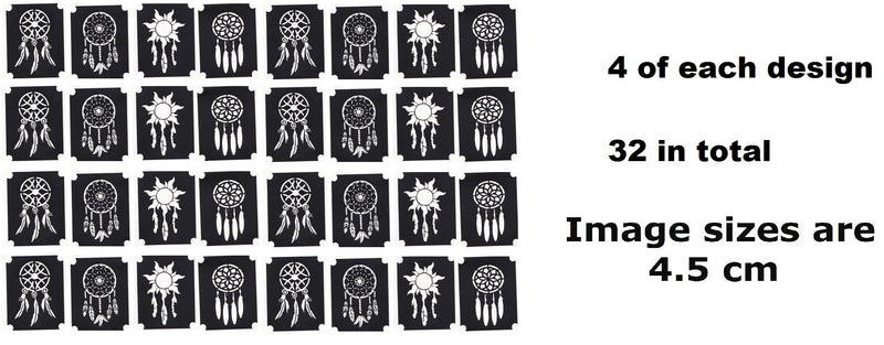 Dreamcatcher Tattoo Stencils