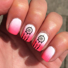 Dreamcatcher Nail Art
