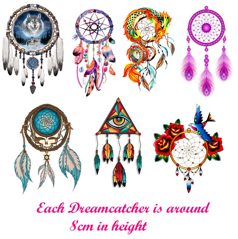 Dreamcatcher code 2   Temporary Tattoos