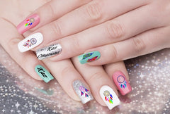 Dreamcatcher code 2  Nail Art