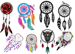 Dreamcatcher Temporary Tattoosc1