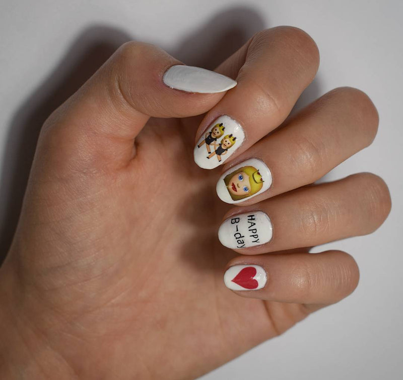 Emoji Code 4 Nail Art Emoticons