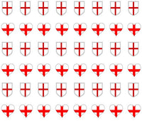 England St George Nail Art