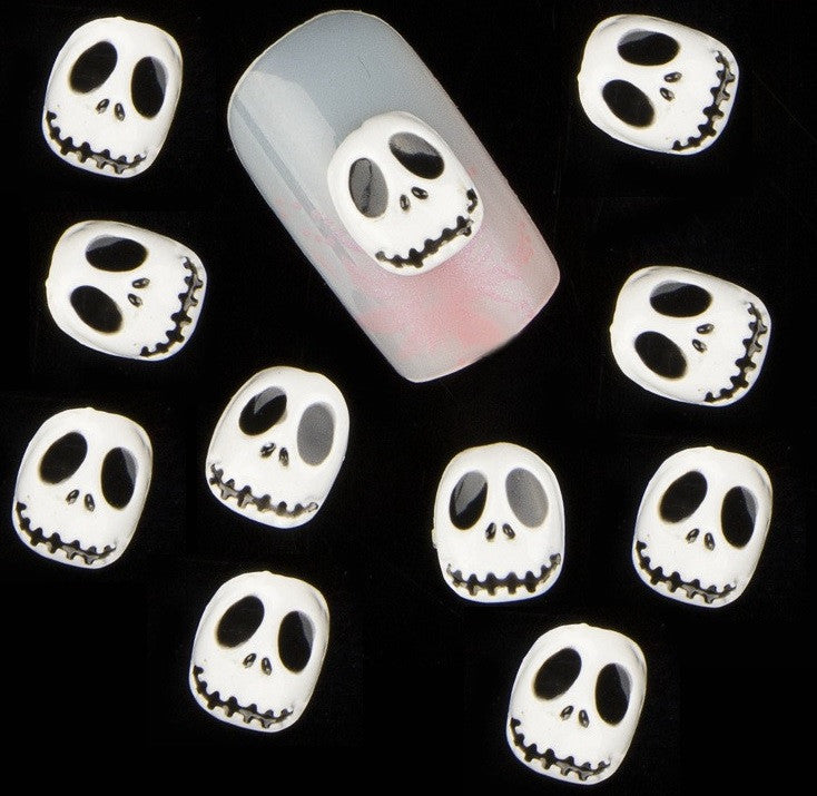 White Skull Jack Skellington ( Pack of 10 ) Collection 18