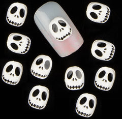 White Skull Jack Skellington ( Pack of 10 ) Collection 7
