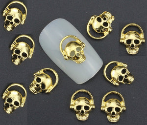 Gold Skull ( Pack of 10 ) Collection 21