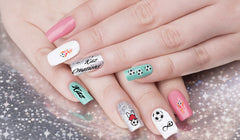 Football Collection Nail Art Decal