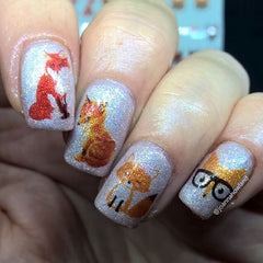 Fox Nail Art Decals