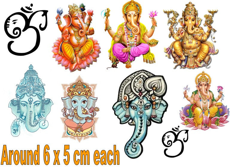 Ganesh Temporary Tattoos
