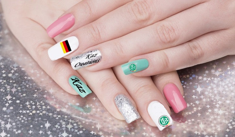 Fifa Germany Nail Art