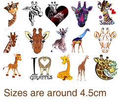 Giraffe Temporary Tattoos