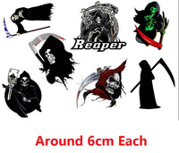 Grim Reaper  Temporary Tattoos