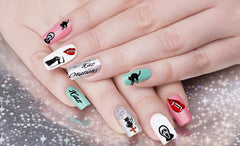 Halloween Collection Nail Art Decals c2