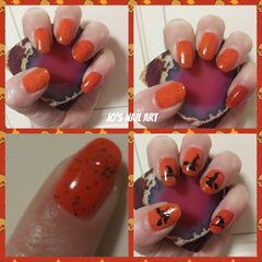 Halloween Collection Nail Art Decals c1