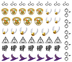 Harry Potter Nail Art Decals c1