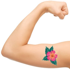 Hibiscus Temporary Tattoos